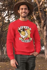 Jolteon Pokemon - Crewneck Sweater