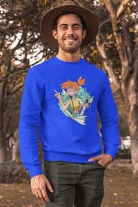 Misty and Gyarados Pokemon - Crewneck Sweater (Copy)