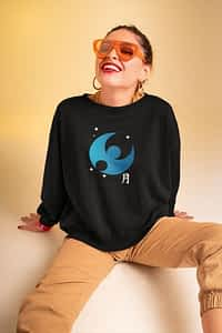 Moon Pokemon- Crewneck