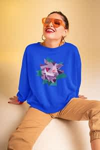 Geometric GENGAR Pokemon - Crewneck Sweater (Copy)