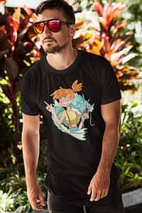 Misty and Gyarados Pokemon - Shirt