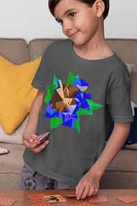 Geometric BLASTOISE Pokemon - Youth Shirt