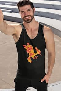 Moltres Flying Pokemon - Men's Tank