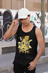 Shiny Hoopa Pokemon- Men's Tank