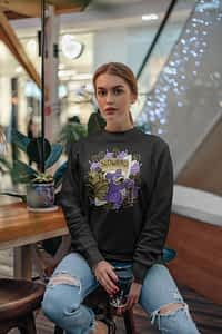 Shiny Slowbro Pokemon - Crewneck