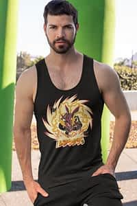 Shiny Rayquaza Pokemon - Men's Tank