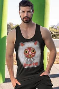 Princess Mononoke MASK Studio Ghibli - Men's Tank
