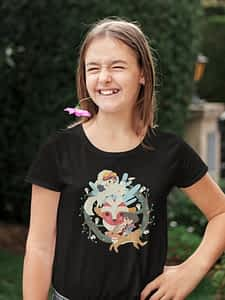 Princess Mononoke Studio Ghibli - Youth Shirt