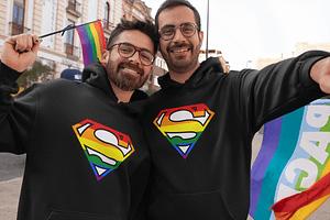Gay Superman! - Hoodies